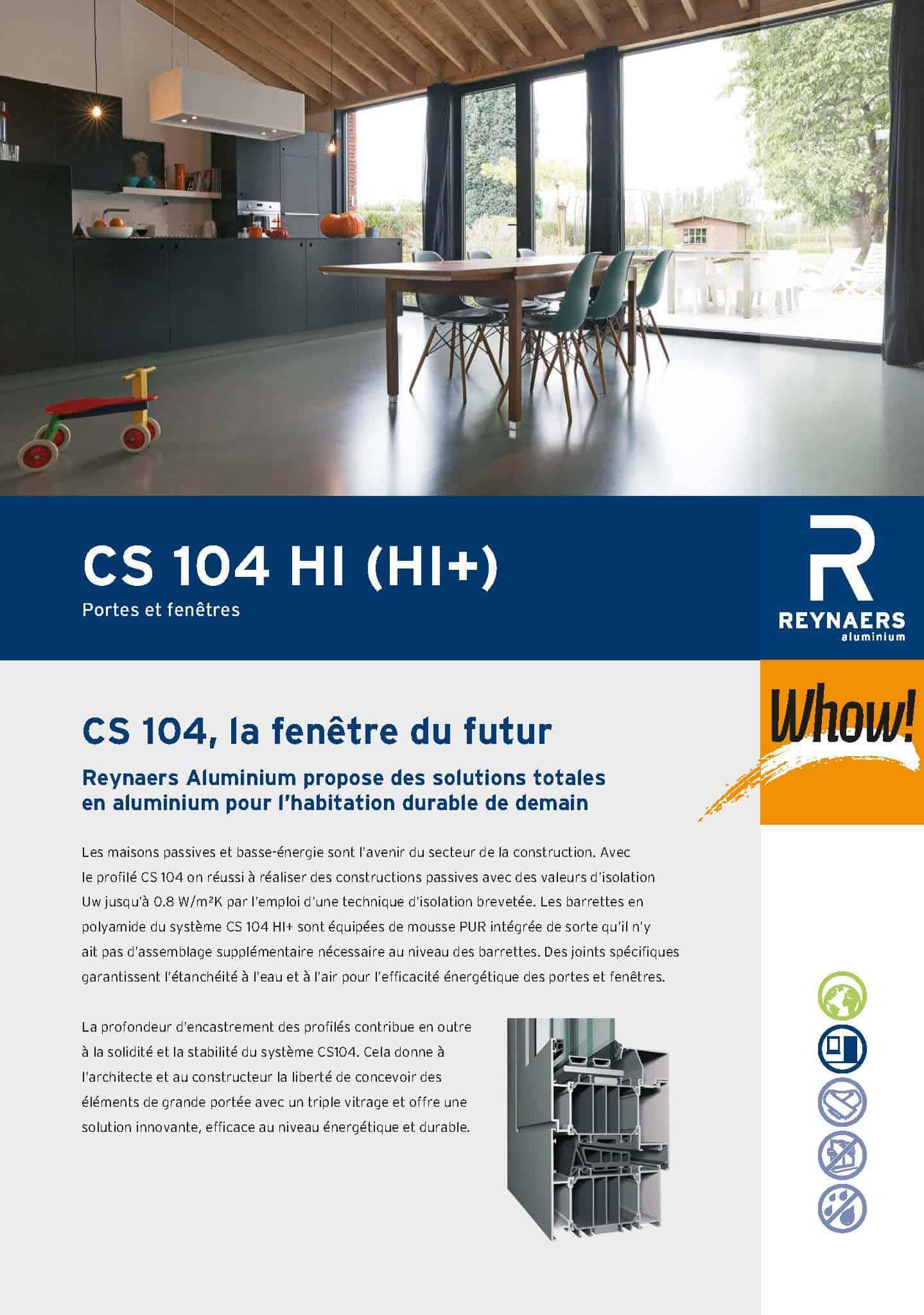 Brochure-Reynaers-ALU-104-FR