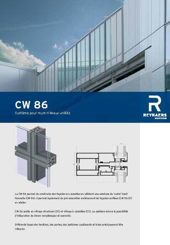 Brochure-Reynaers-Mur-rideau-CW86-FR