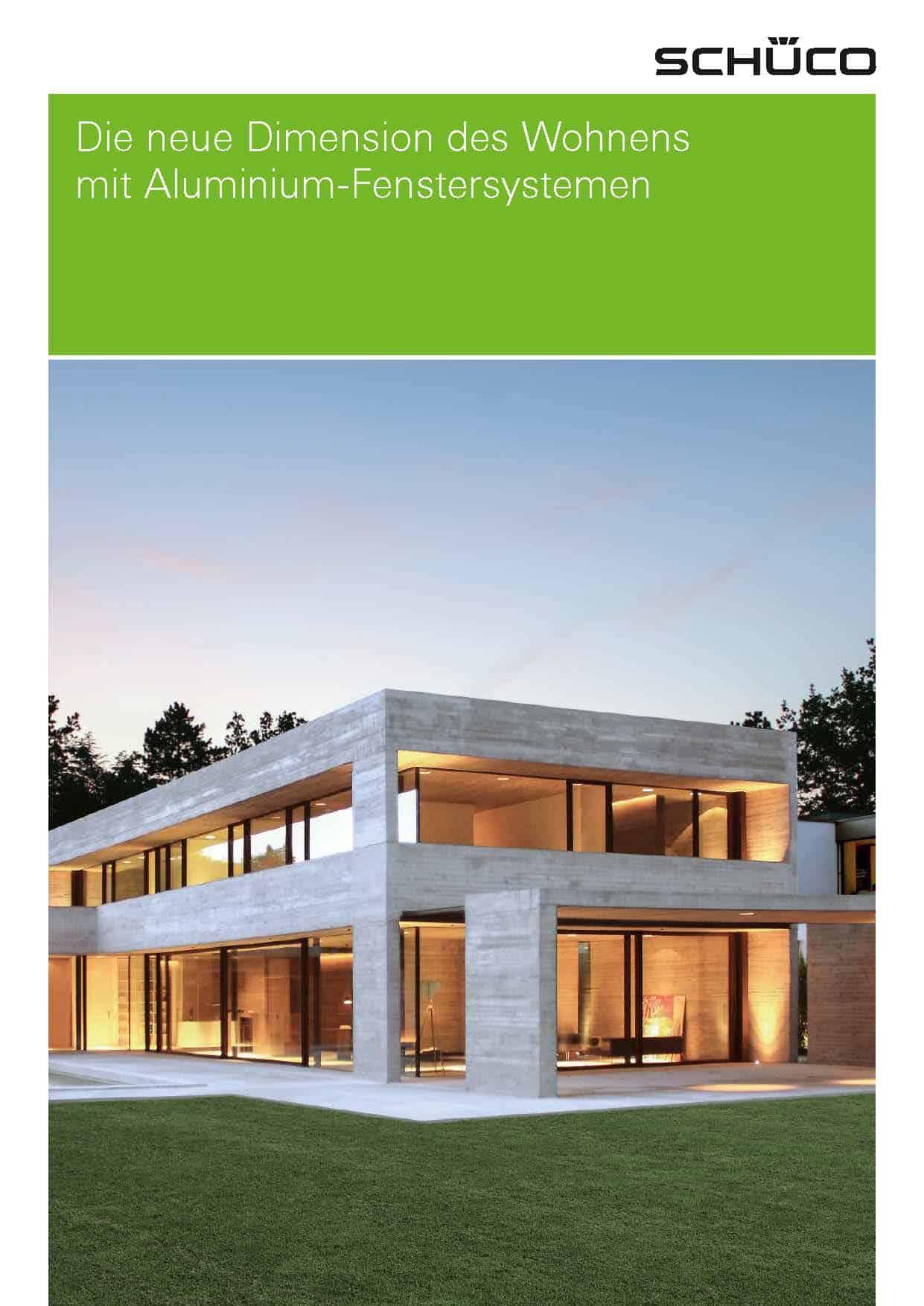 Brochure-Schüco-ALU-DE