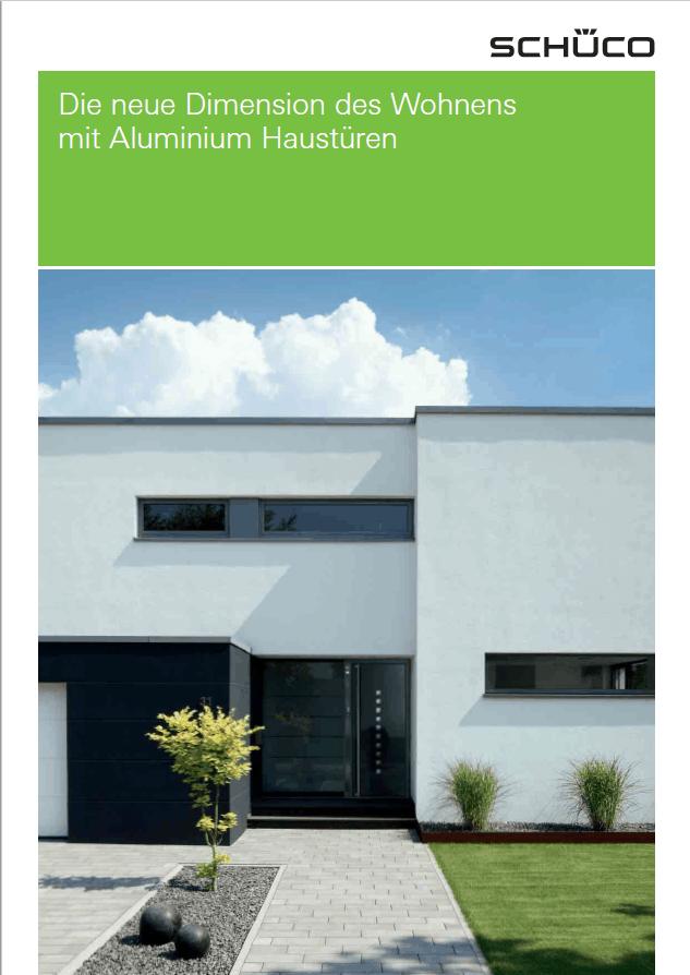 Brochure-Schüco-ALU-Portes-entrées-DE