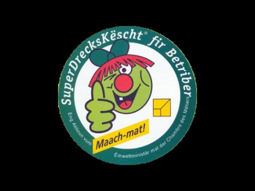 Superdreckskescht Label