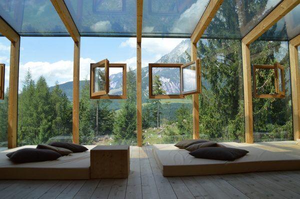 fenêtre châssis en bois