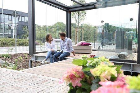 Avantages d'une extension à toit plat