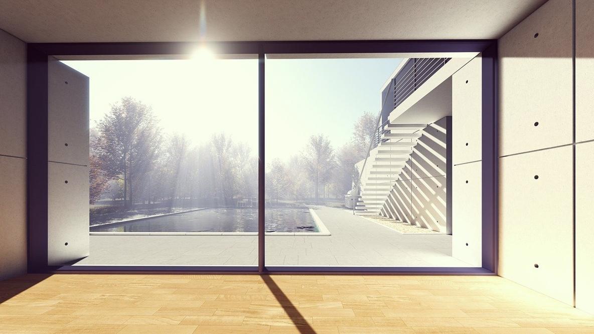 Baies vitrées coulissantes en Aluminium